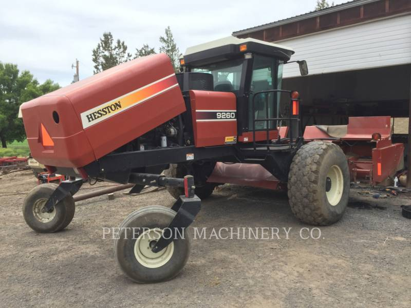 AGCO-HESSTON CORP AG HAY EQUIPMENT HT9260 equipment  photo 1