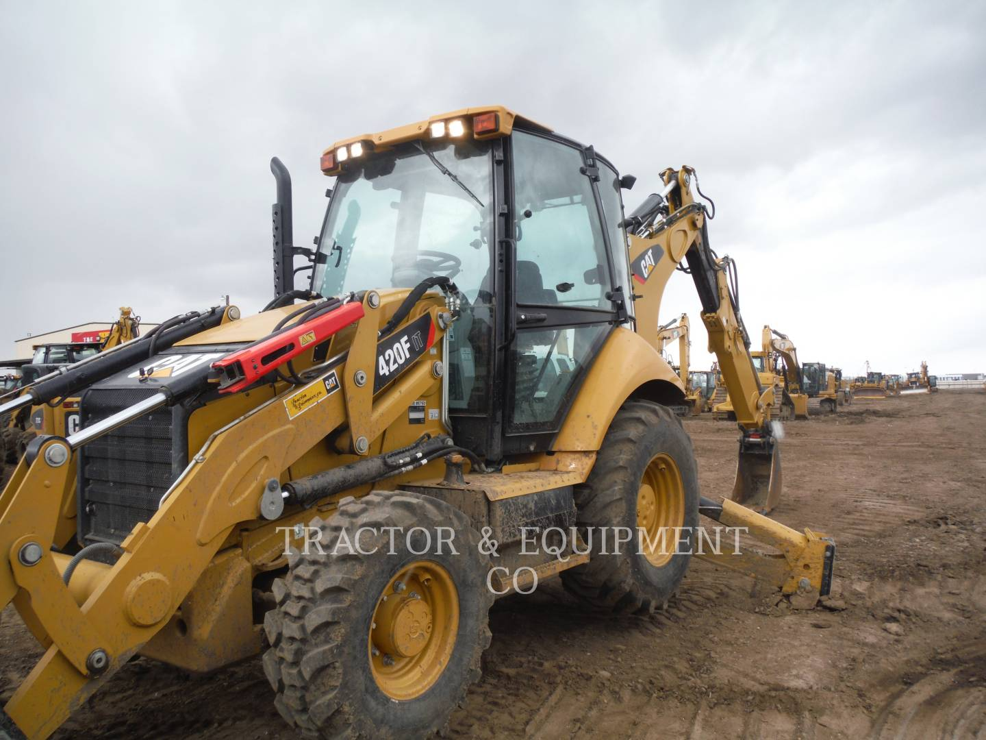 Detail photo of 2015 Caterpillar 420F IT from Construction Equipment Guide