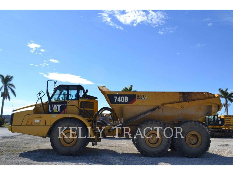 CATERPILLAR CAMIONES ARTICULADOS 740B equipment  photo 5