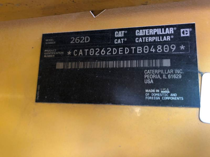CATERPILLAR SKID STEER LOADERS 262 D equipment  photo 22