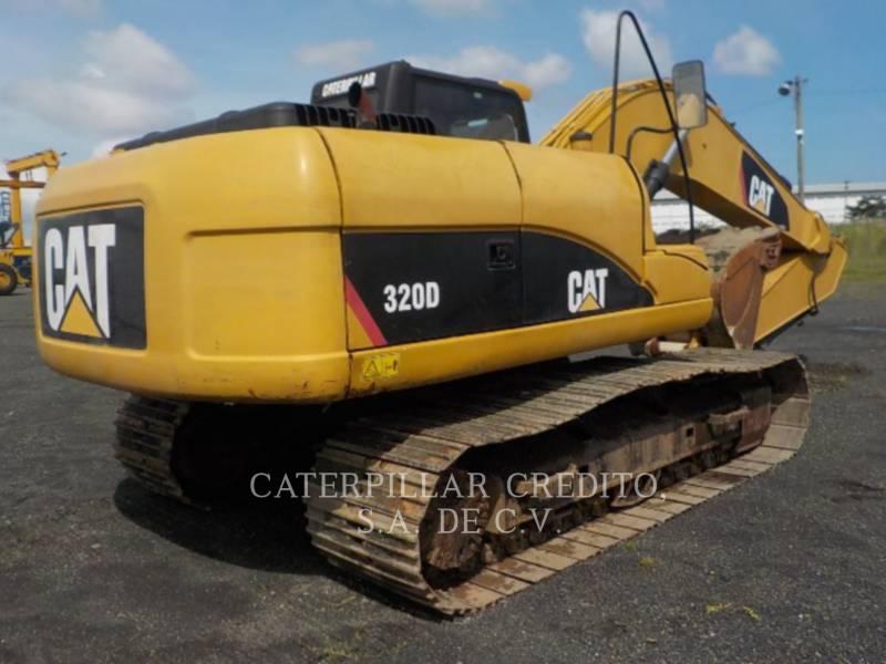 CATERPILLAR TRACK EXCAVATORS 320D equipment  photo 4