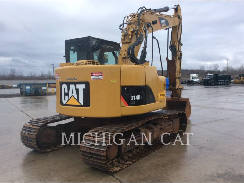 CATERPILLAR EXCAVADORAS DE CADENAS 314DLCR equipment  photo 3