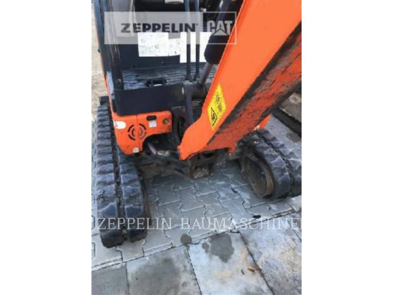 KUBOTA CORPORATION KOPARKI GĄSIENICOWE KX016-4 equipment  photo 7