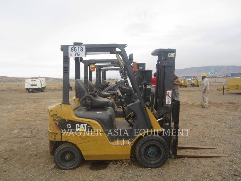 MITSUBISHI CATERPILLAR FORKLIFT ELEVATOARE CU FURCĂ DP15ND equipment  photo 3