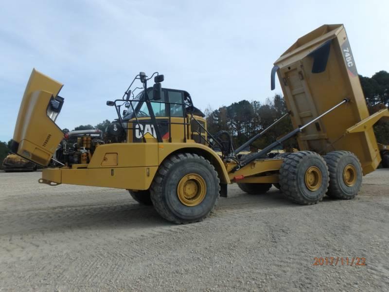 CATERPILLAR アーティキュレートトラック 745C equipment  photo 11