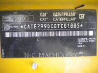 CATERPILLAR CARREGADEIRAS TODO TERRENO 299D1 H3CB equipment  photo 2
