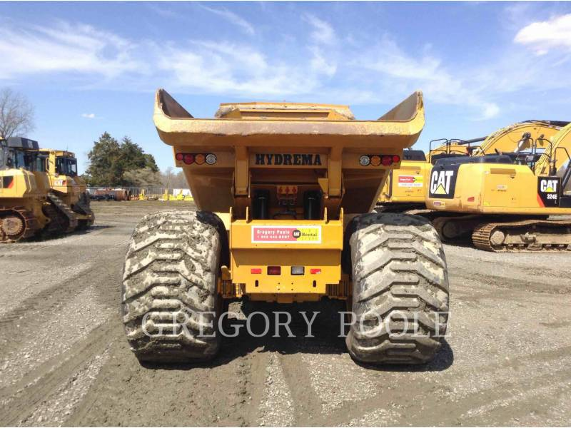 HYDREMA ARTICULATED TRUCKS 912HM equipment  photo 6