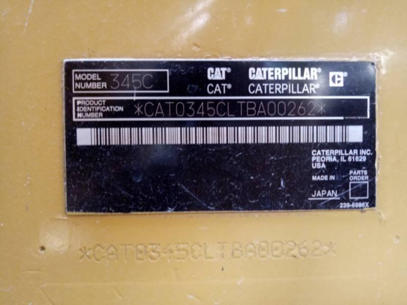 CATERPILLAR MINING SHOVEL / EXCAVATOR 345CL equipment  photo 4
