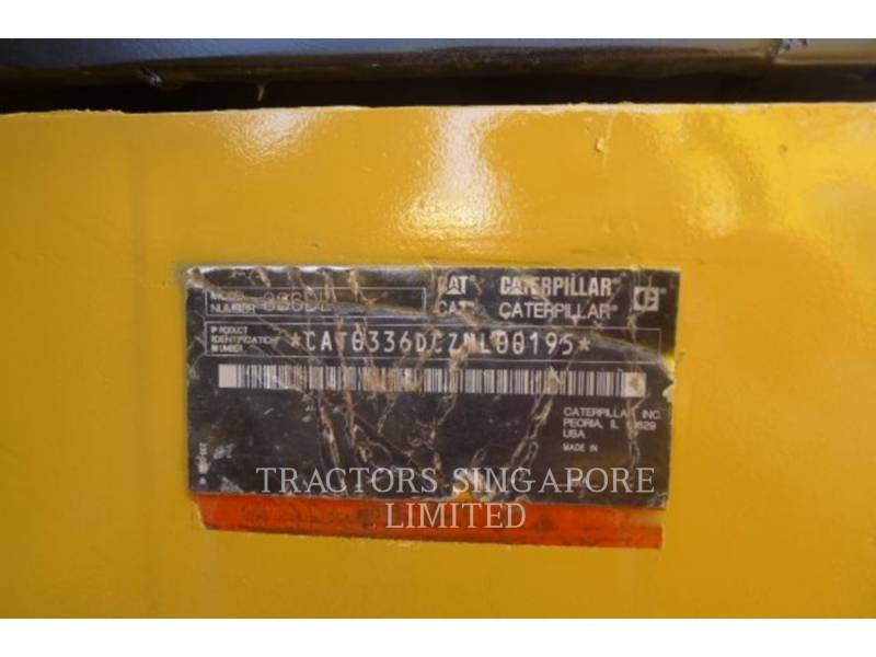 CATERPILLAR TRACK EXCAVATORS 336DL equipment  photo 14