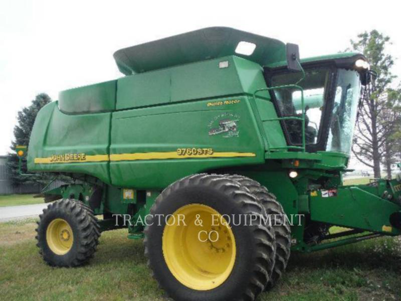 JOHN DEERE COMBINAZIONI 9760 equipment  photo 4