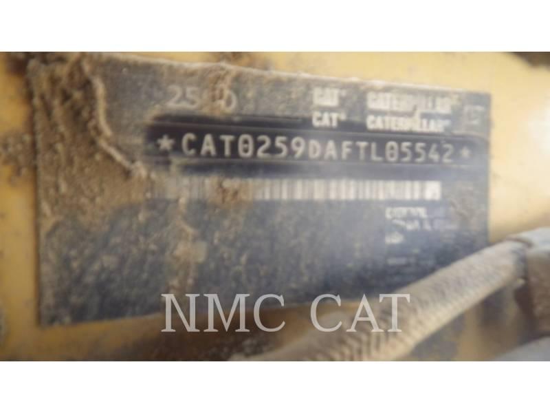 CATERPILLAR CARGADORES MULTITERRENO 259D equipment  photo 1