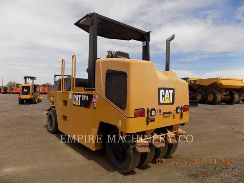 CATERPILLAR PNEUMATIC TIRED COMPACTORS CW14 equipment  photo 3