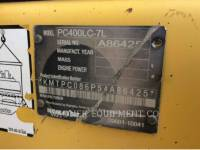 KOMATSU KETTEN-HYDRAULIKBAGGER PC400LC7L equipment  photo 5
