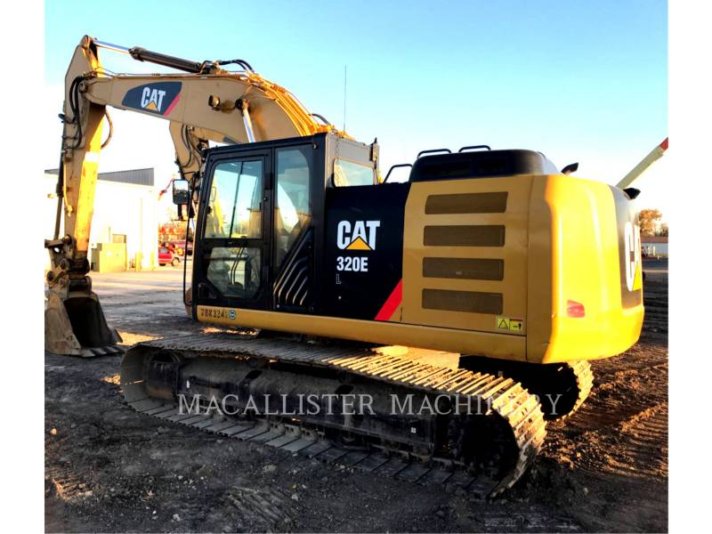 CATERPILLAR KETTEN-HYDRAULIKBAGGER 320E equipment  photo 1