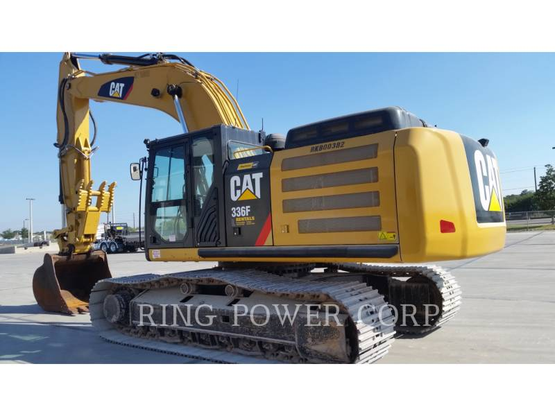 CATERPILLAR RUPSGRAAFMACHINES 336FL equipment  photo 2