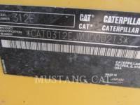 CATERPILLAR TRACK EXCAVATORS 312EL equipment  photo 9