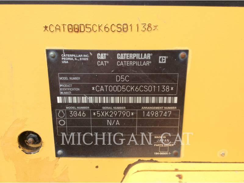 CATERPILLAR TRACK TYPE TRACTORS D5L equipment  photo 11