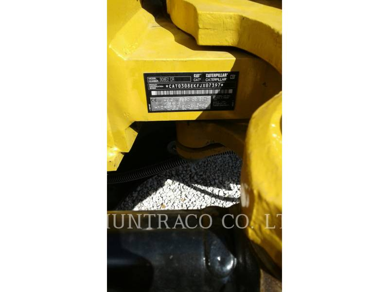 CATERPILLAR TRACK EXCAVATORS 308 E2 CR SB equipment  photo 5