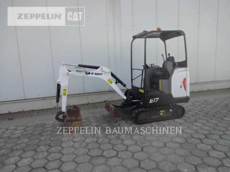 BOBCAT KETTEN-HYDRAULIKBAGGER E17 equipment  photo 2