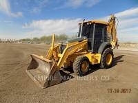 Equipment photo JOHN DEERE 410G BAGGERLADER 1