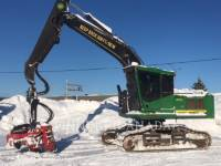 Equipment photo JOHN DEERE 2154 FORESTRY - PROCESSOR 1