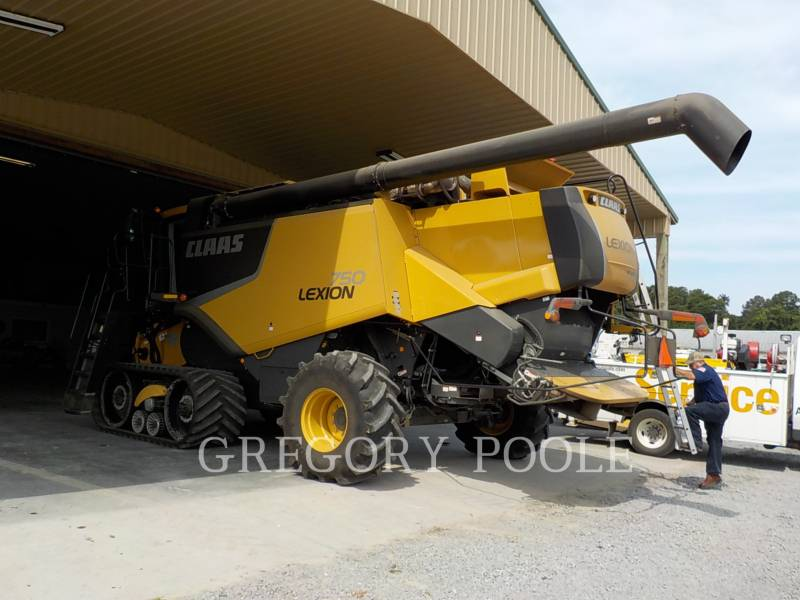 LEXION COMBINE COMBINADOS 750TT equipment  photo 3