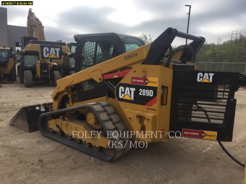 CATERPILLAR SKID STEER LOADERS 289DSTD2CA equipment  photo 3