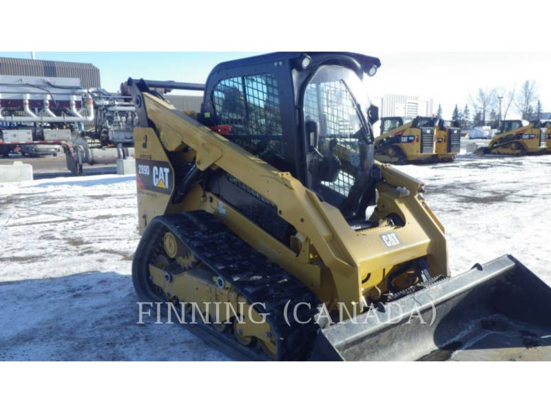 CATERPILLAR CHARGEURS TOUT TERRAIN 289DXPS equipment  photo 6