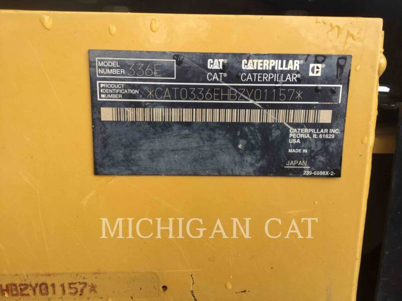 CATERPILLAR EXCAVADORAS DE CADENAS 336EL Q equipment  photo 24