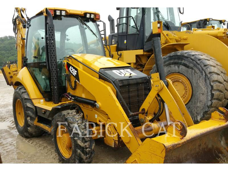CATERPILLAR RETROESCAVADEIRAS 420F HT equipment  photo 3