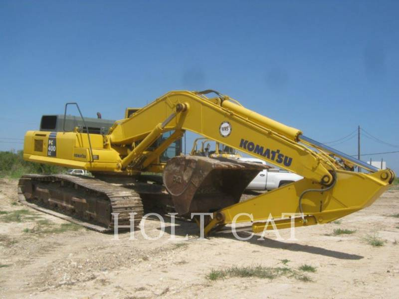 KOMATSU KETTEN-HYDRAULIKBAGGER PC 400LC-8 equipment  photo 2