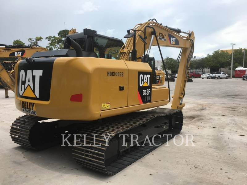 CATERPILLAR TRACK EXCAVATORS 313FL GC equipment  photo 5