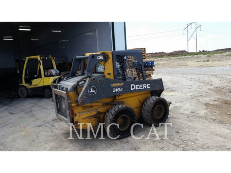 JOHN DEERE SKID STEER LOADERS 318E_JD equipment  photo 3