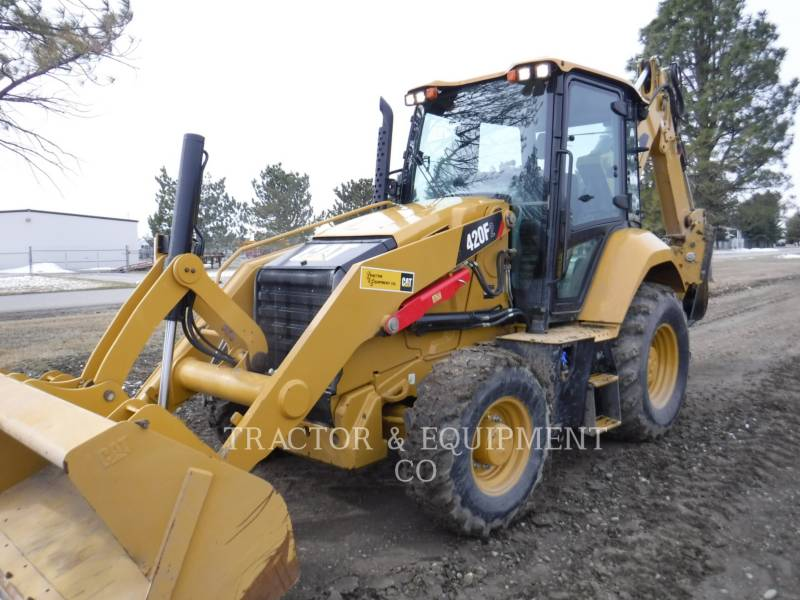 CATERPILLAR CHARGEUSES-PELLETEUSES 420F2 4ECB equipment  photo 1