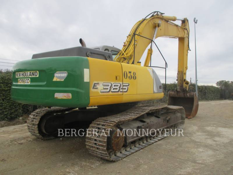 FORD / NEW HOLLAND TRACK EXCAVATORS E385 equipment  photo 5