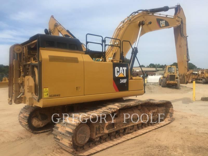 CATERPILLAR TRACK EXCAVATORS 349F L equipment  photo 5