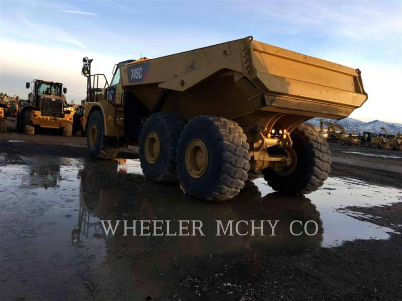 CATERPILLAR ARTICULATED TRUCKS 745C TG equipment  photo 5