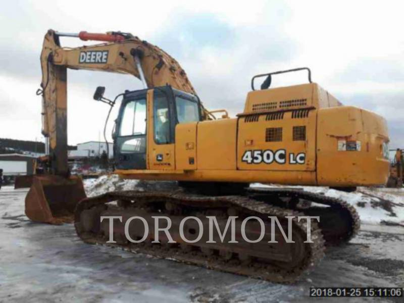 DEERE & CO. TRACK EXCAVATORS 450CLC equipment  photo 1