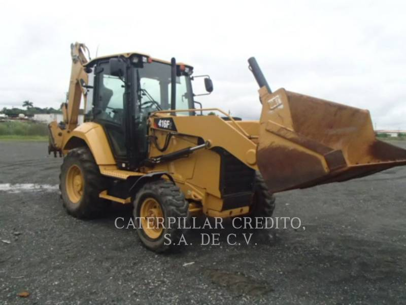 CATERPILLAR RETROEXCAVADORAS CARGADORAS 416F2STLRC equipment  photo 2