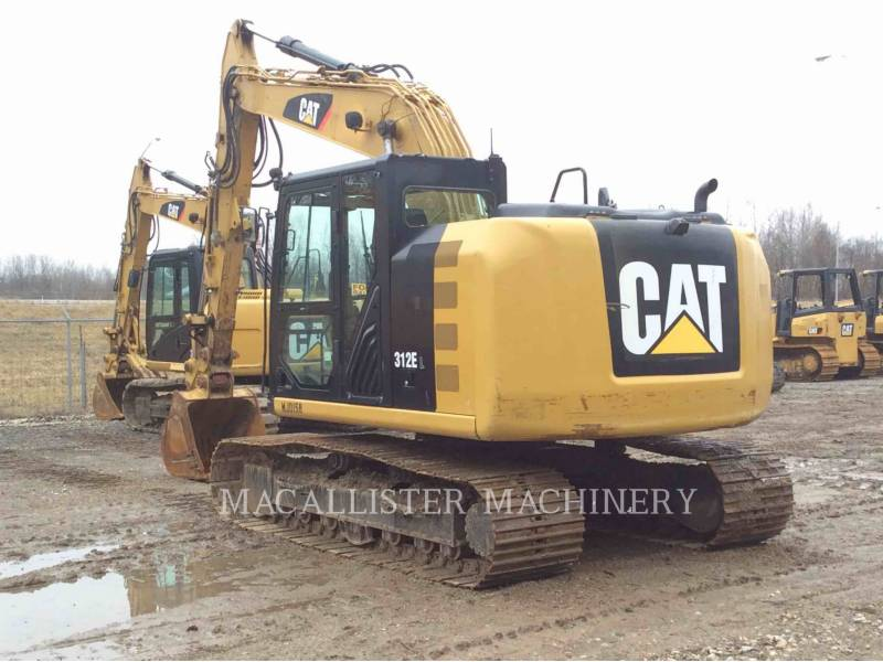 CATERPILLAR EXCAVADORAS DE CADENAS 312E equipment  photo 3