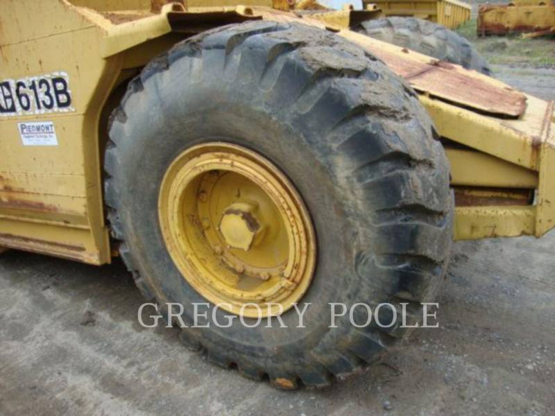 CATERPILLAR WHEEL TRACTOR SCRAPERS 613B equipment  photo 20