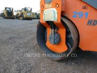 HAMM USA VIBRATORY DOUBLE DRUM ASPHALT HD12 equipment  photo 3
