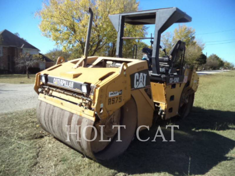 CATERPILLAR VIBRATORY DOUBLE DRUM ASPHALT CB-534D equipment  photo 3