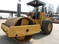 Equipment photo CATERPILLAR CS-563CAW 振动单碾轮平滑设备 1