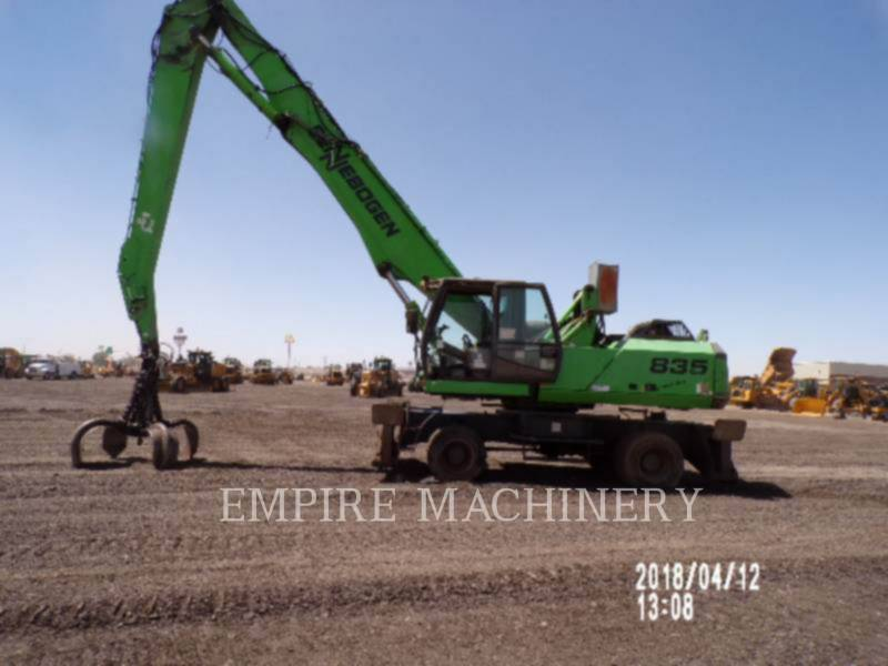 OTHER US MFGRS EXCAVADORAS DE CADENAS 835M equipment  photo 7