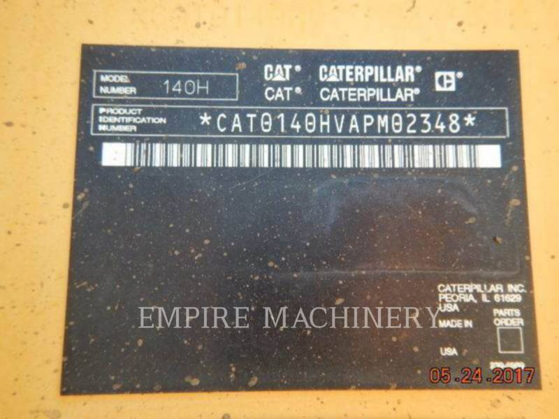 CATERPILLAR モータグレーダ 140HNA equipment  photo 6