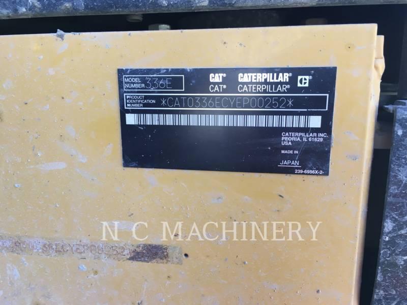 CATERPILLAR TRACK EXCAVATORS 336E L equipment  photo 12