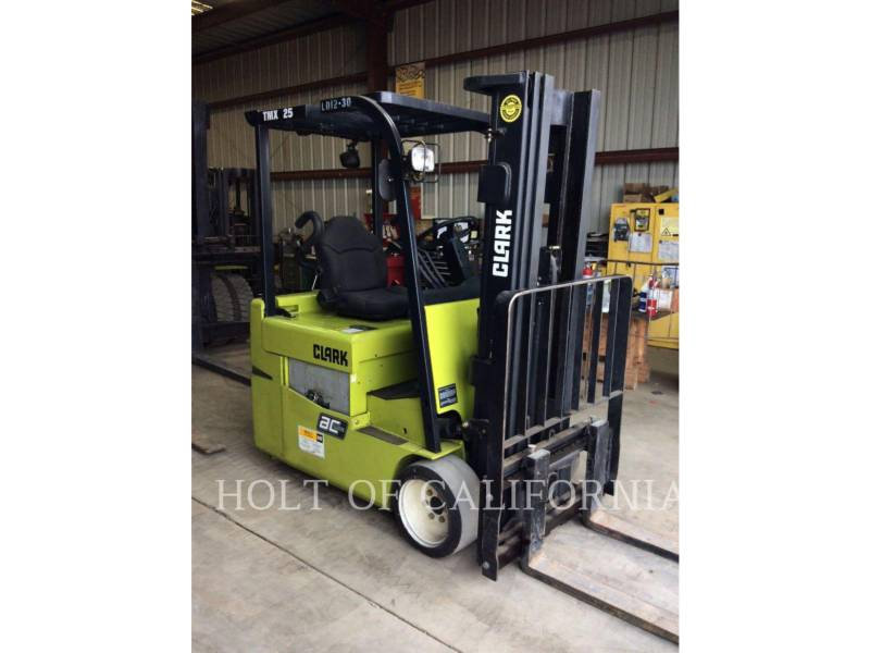 CLARK FORKLIFTS TMX25 equipment  photo 3