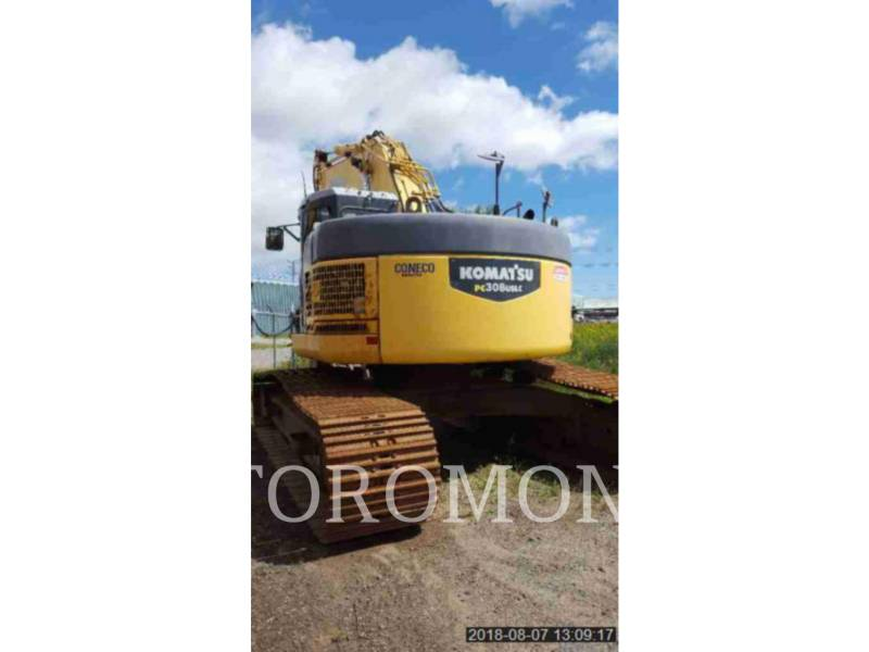 KOMATSU LTD. TRACK EXCAVATORS PC308USLC equipment  photo 2