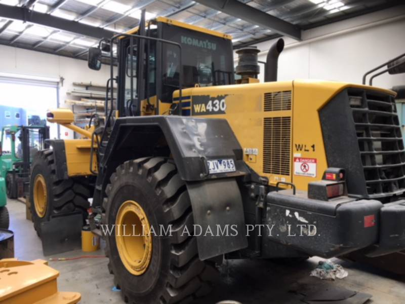 KOMATSU LTD. WHEEL LOADERS/INTEGRATED TOOLCARRIERS WA430-6 equipment  photo 1